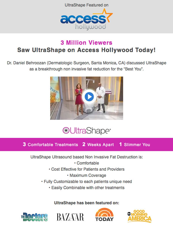 UltraShape-on-Access-Hollywood