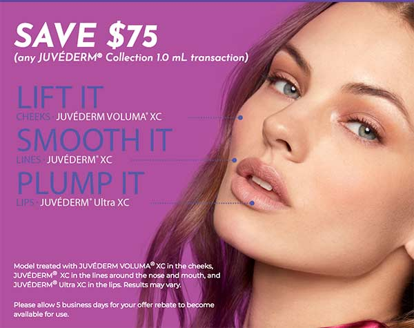 Juvederm It - Save with Brilliant Distinctions