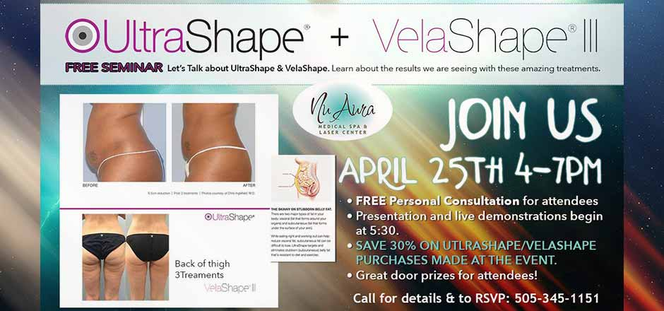 UltraShape and VelaShape by Nu Aura