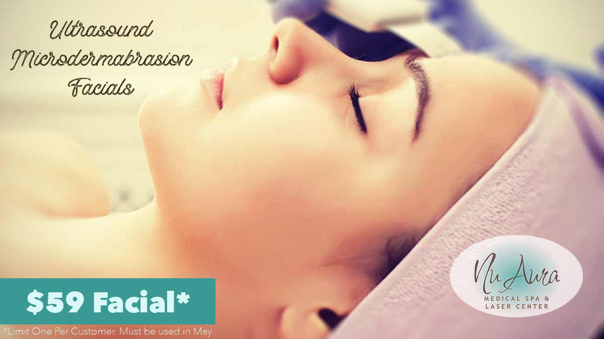 Ultrasound Microdermabrasion Facial Special $59